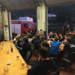 Viele aktiven Kameraden waren mit ihren Familien ins Feuerwehrhaus gekommen.